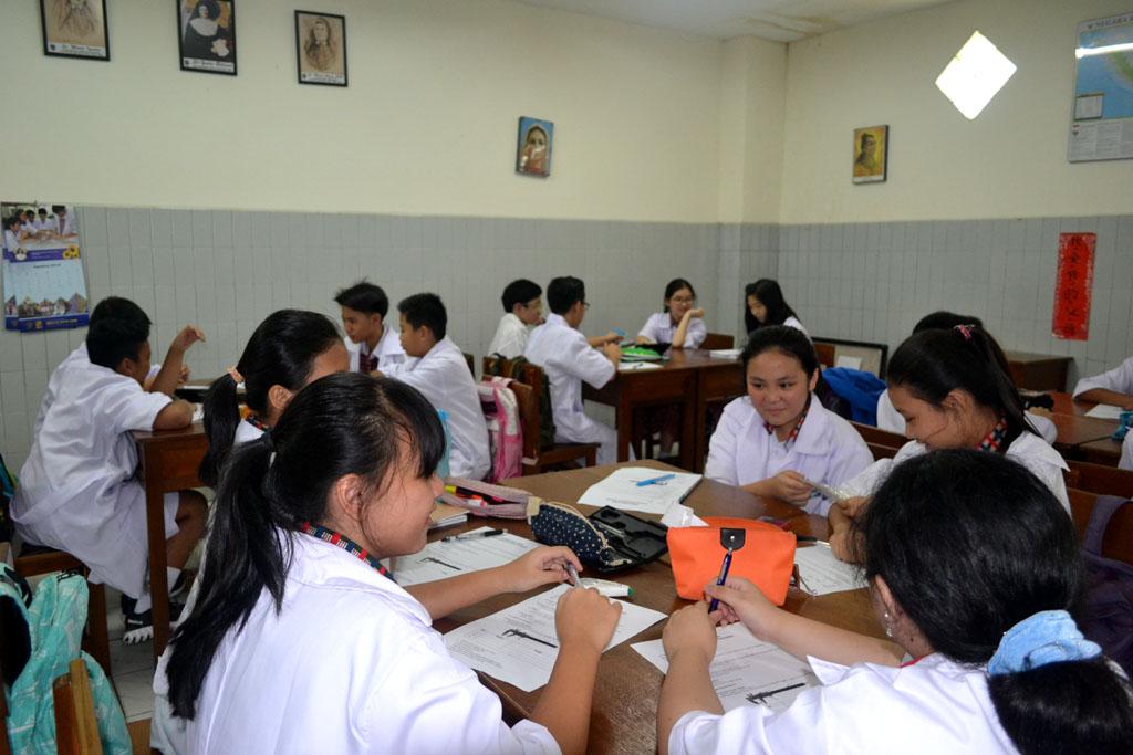 Ruang Kelas Yang Nyaman